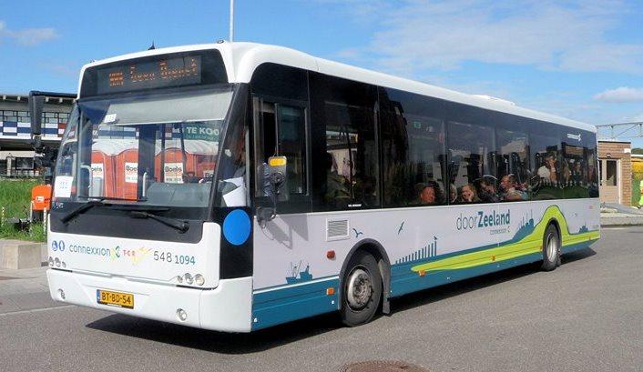 buschauffeur lijndienst omgeving goeree
